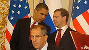 Obama in Moskau