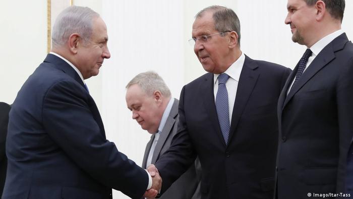 Биньямин Нетаньяху и Сергей Лавров (фото из архива)