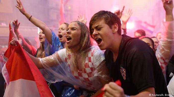 Fußball WM 2018 Kroatien vs England