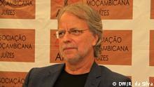 11.07.2018 Mozambikanischer Schriftsteller Mia Couto analysiert in Maputo das mosambikanische Rechtssystem.