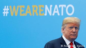 Belgien Brüssel NATO Gipfel | Donald Trump (Reuters/P. Hanna)