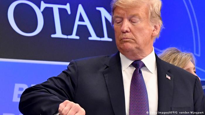 Трамп порушив графік саміту НАТО в Брюсселі