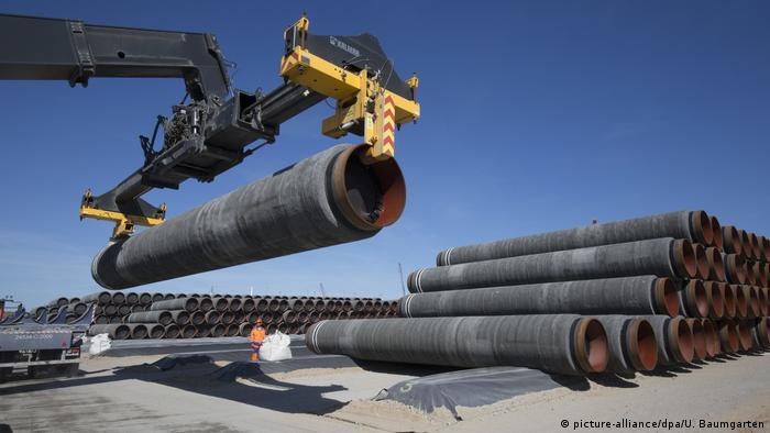 Трубы для газопровода Севеный поток-2