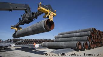 Κατασκευή του αγωγού Nord Stream 2