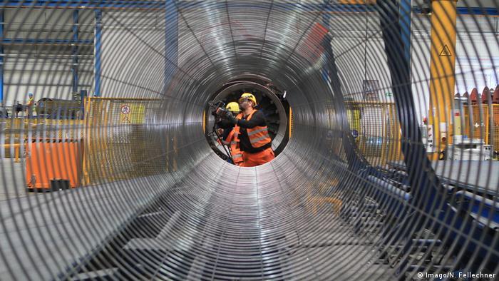 Виробництво труб для Північного потоку-2 на заводі Wasco Coatings у Німеччині