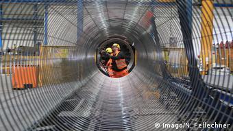 Покрытие бетоном труб для газопровода Северный поток - 2 на немецком предприятии Wasco Coatings