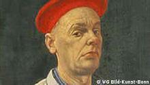 Werner Tübke Selbstbildnis mit roter Kappe
