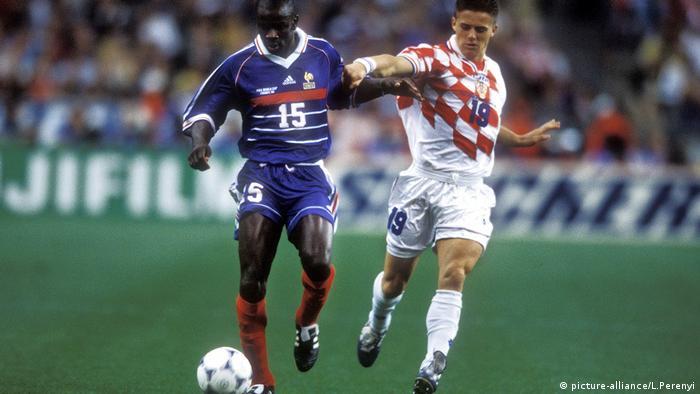 Fußball-WM 1998 - Halbfinale Frankreich - Kroatien 2:1 (picture-alliance/L.Perenyi)