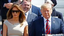 England Ankunft Donald Trump