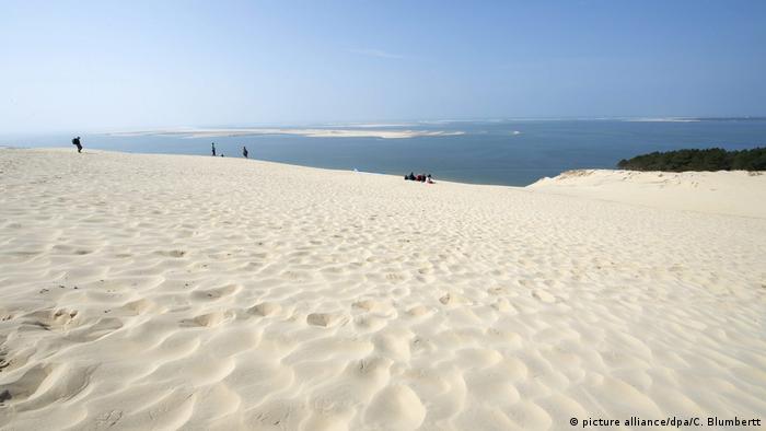 Пляж во Франции