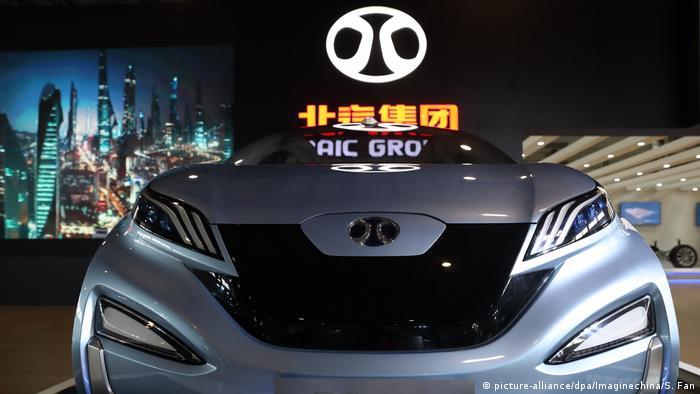 China E-Auto von BAIC Group bei der CHITEC Messe in Peking (picture-alliance/dpa/Imaginechina/S. Fan)