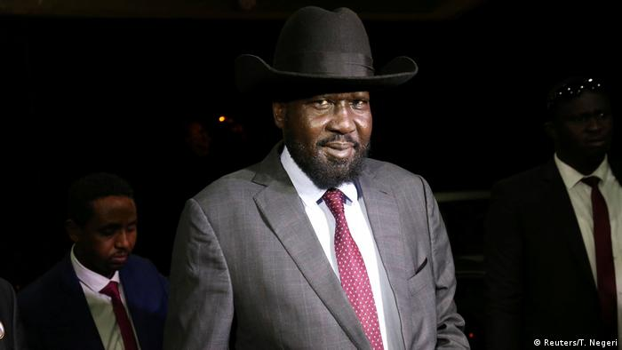 Südsudan Präsident Salva Kiir