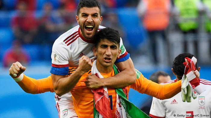 Iran bei der WM Probleme für den Ausrüster (Archiv)