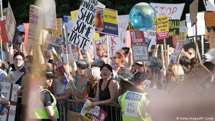 England Anti-Trump Protest in Oxfordshire (Getty Images/M. Cardy)