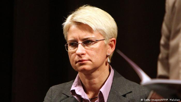 Former Lithuanian judge Neringa Venckiene (Getty Images/AFP/P. Malukas)