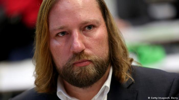 The Green Party's parliamentary group leader Anton Hofreiter