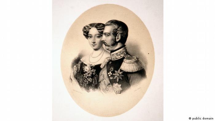 Александр Второй и императрица Мария Александровна