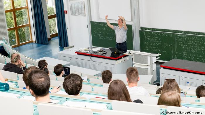 Лекция по математике в Берлине