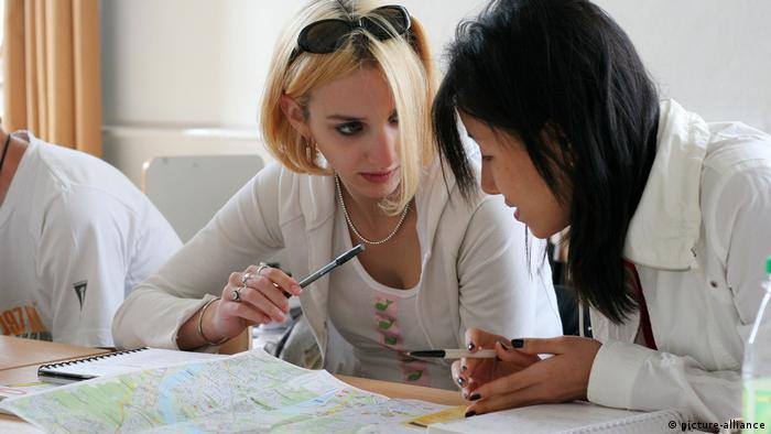 На курсах немецкого языка в Боннском университете