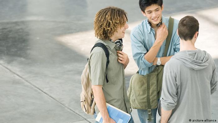 Общение с немецкими студентами