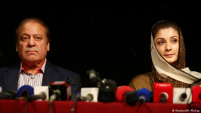 London Pakistan Nawaz Sharif Tochter Maryam Nawaz (Reuters/H. McKay)