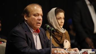 London Pakistan Nawaz Sharif Tochter Maryam Nawaz