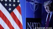 Trump beim NATO Gipfel in Brüssel