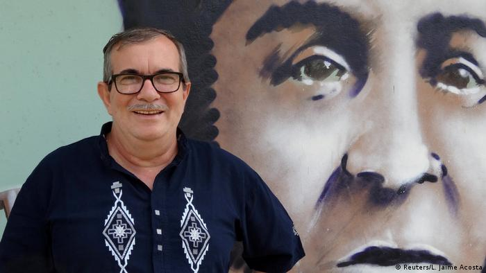 Kolumbien Ex-FARC Anführer Rodrigo Londono (Reuters/L. Jaime Acosta)