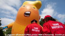 London Trump Baby Balloon