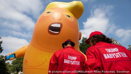 Großbritannien London Trump Baby Ballon