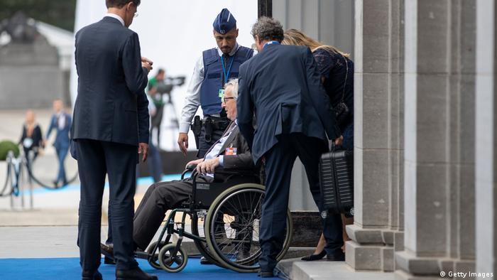 Brüssel Belgien NATO-Gipfel - Jean-Claude Juncker