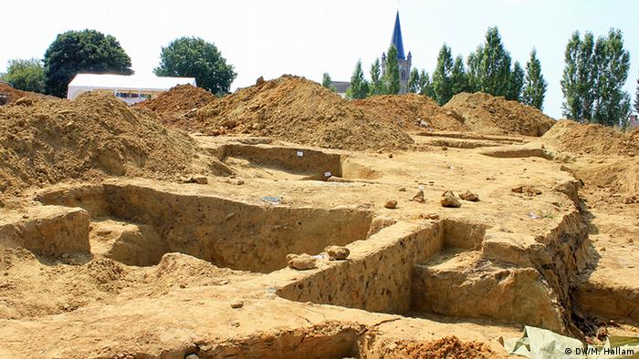 Archaeological dig in Wijtschate (DW/M. Hallam)