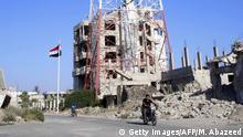 Syrien Daraa Zerstörte Häuser
