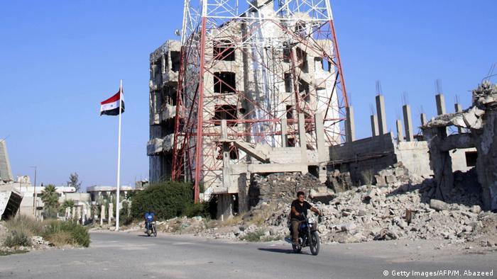 Syrien Daraa Zerstörte Häuser (Getty Images/AFP/M. Abazeed)