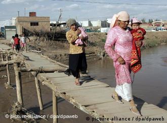德新社记者几年前在新疆拍摄的照片