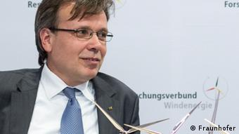 Dr Jan Tessmer is coordinator on wind energy research at the German Aerospace Center (DLR) (Fraunhofer)