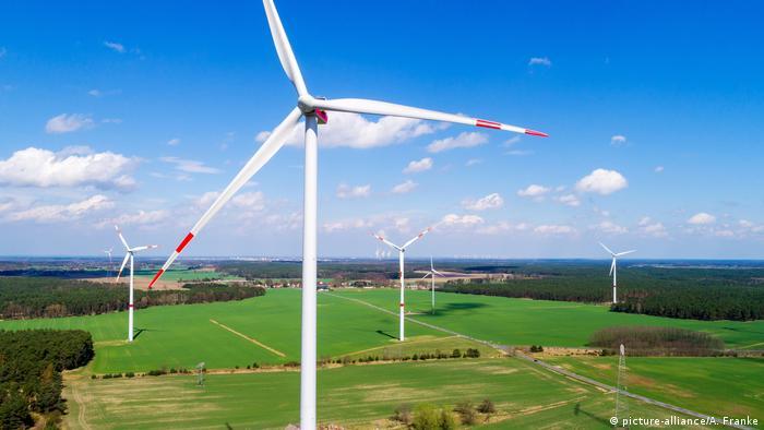 Ветропарк в Германии