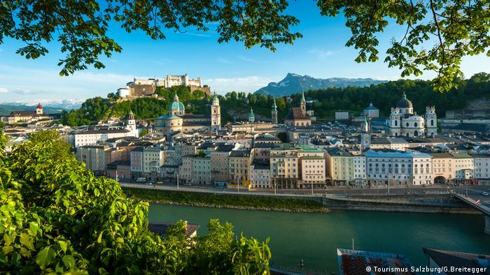 A view of Salzburg (Tourismus Salzburg/G.Breitegger)