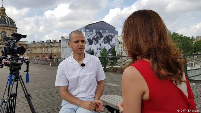 DW Sendung Gast&Story Abdellah Taia (DWA. Khassan)