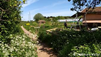 Großbritannien Edible Futures at Sims Hill Community Farm
