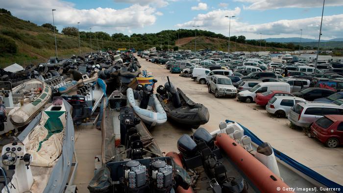 Scrapyard in San Roque, Spain (Getty Images/J. Guerrero)