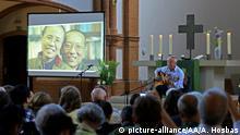 Gedenken 1. Jahrestag Todestag Liu Xiaobo Biermann