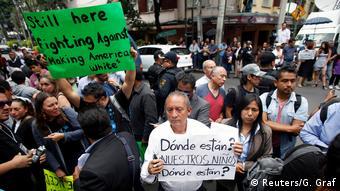 Protestas ante la visita de Mike Pompeo en Ciudad de México