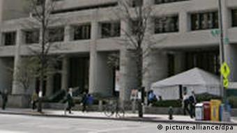 Gebäude Internationaler Währungsfond IWF Washington