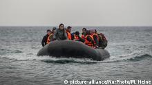 Mittelmeer Lesbos Bootsflüchtlinge