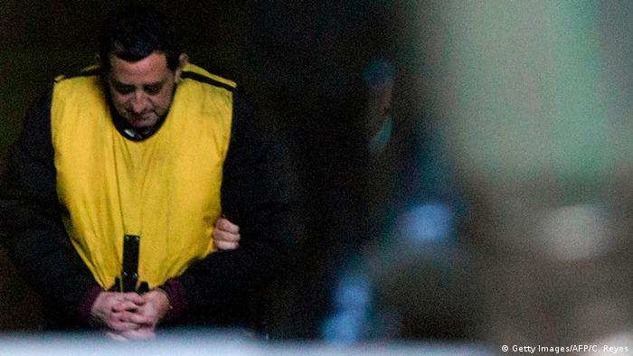 Chile Missbrauchsskandal Verhafteter Priester Oscar Munoz Toledo (Getty Images/AFP/C. Reyes)