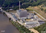 Imagen de la central nuclear de Krümmel, averiada desde el 4 de julio.