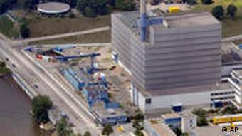 Areal shot of Vattenfall-operated plant, Kruemmel