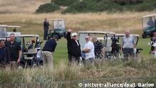 Schottland Donald Trump Golf (picture-alliance/dpa/J. Barlow)