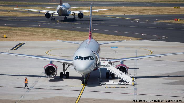 Deutschland Flughafen Düsseldorf